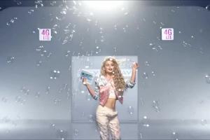 Margaret w reklamie nielimitowanego Internetu na Kartę w Play