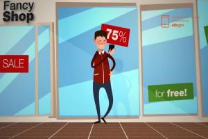 Ciekawostki o mobilnych zakupach internetowych w reklamie Allegro