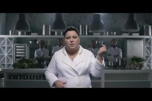 Dorota Wellman szefową kuchni w reklamie Lidla