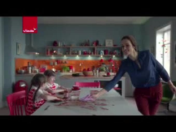 """Vileda reklamuje Actifibre jako """"ściereczkę nowej generacji"""""""