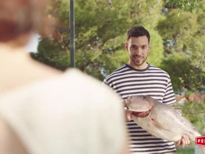 Podravka reklamowana do dań kuchni śródziemnomorskiej