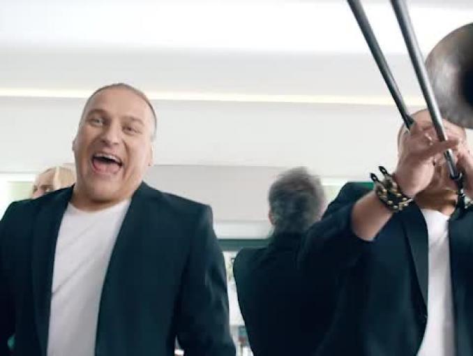 Golec uOrkiestra reklamuje kredyt gotówkowy w BZ WBK
