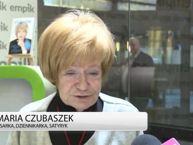 Maria Czubaszek: przyjaźnię się ze zwierzętami z ludźmi pracuje