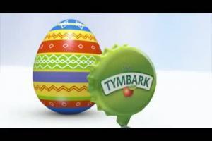 Tymbark - reklama na Wielkanoc