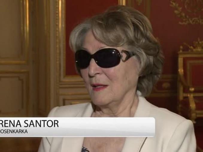 Irena Santor: jeśli Ania Dymna zechce, bym była jej podnóżkiem, to proszę bardzo