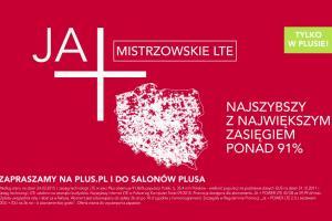 """Plus siatkarko reklamuje """"Ja+ mistrzowskie LTE"""""""