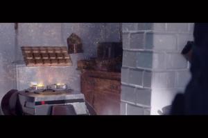 Wargorr kopiuje z robotem w reklamie czekolady Wedel