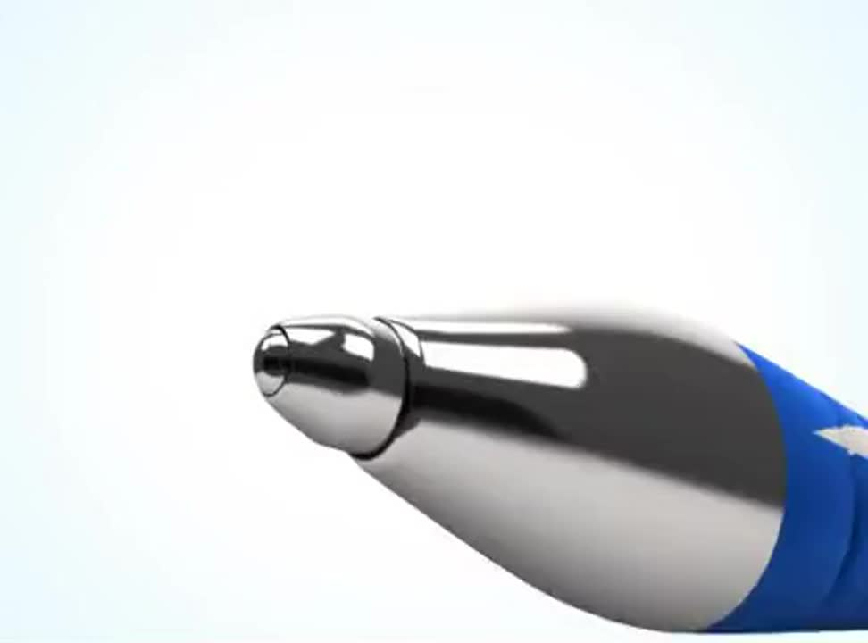 reklama długopisów Paper Mate Flex Grip Elite