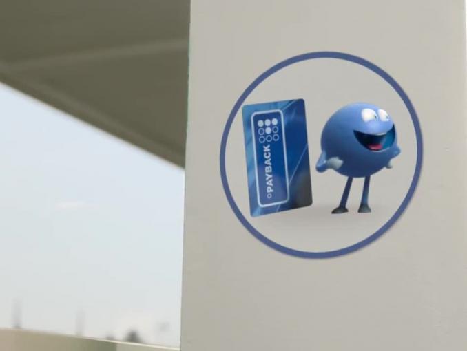 Punkciaki załatwiają nagrody na stacji BP w reklamach Payback