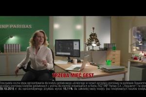 BGŻ BNP Paribas musicalowo reklamuje świąteczny kredyt gotówkowy