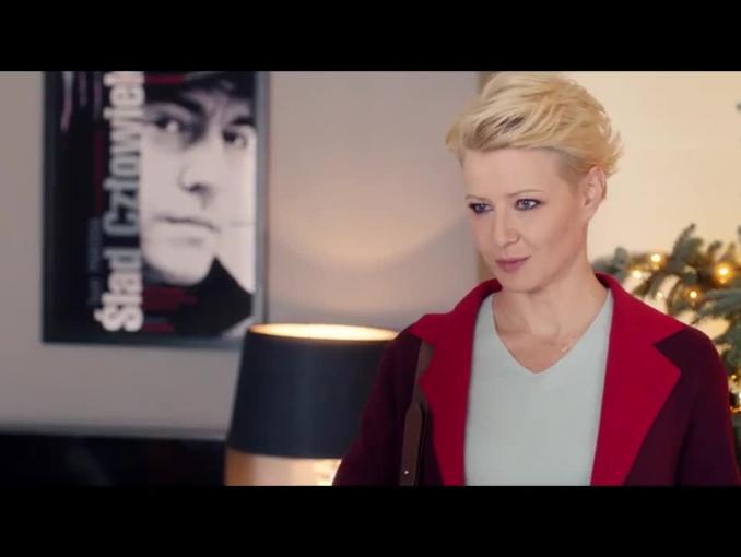"""Małgorzata Kożuchowska ciocią """"pod jednym dachem"""" w reklamie Orange"""