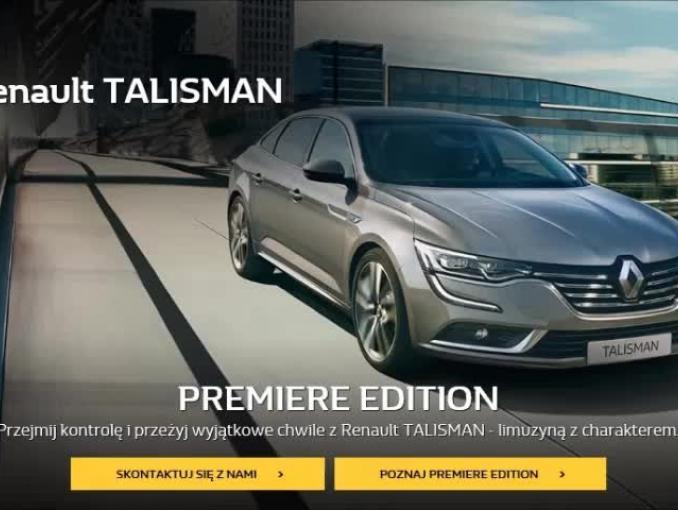 Bogusław Linda reklamuje Renault Talisman