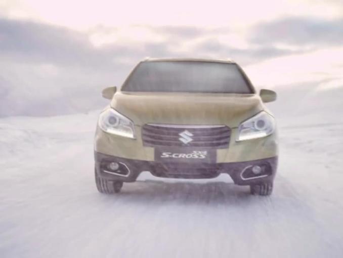 """Suzuki SX4 S-Cross reklamowany jako """"mistrz trudnych warunków"""""""