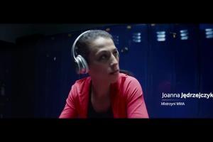 """""""Zostań legendą"""" - Joanna Jędrzejczyk reklamuje urządzenia mobilne Samsunga"""
