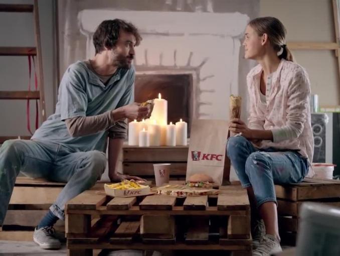 KFC reklamuje rozgrzewające sery