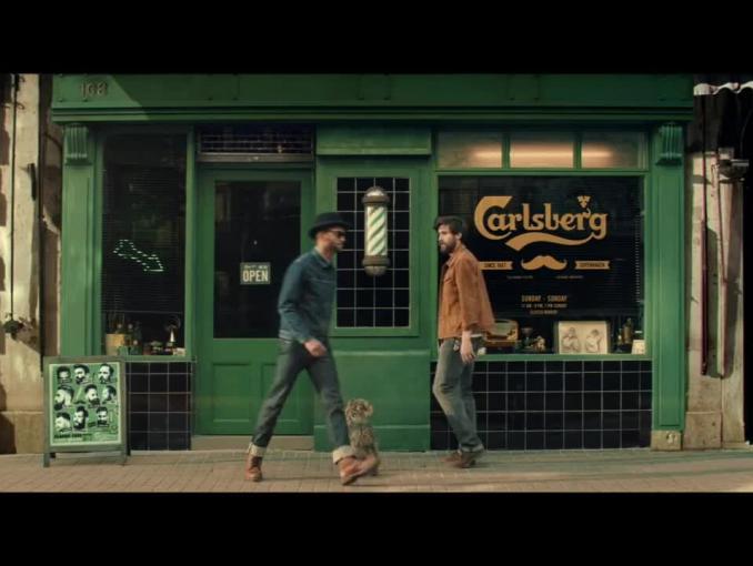 Gdyby Carlsberg robił salony fryzjerskie - spot piwa Carlsberg