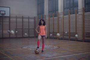Marcelina wspomina dzieciństwo w reklamie H&M