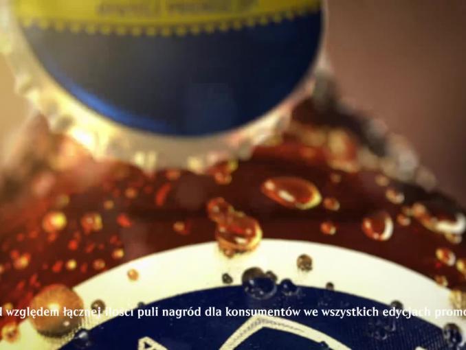 Harnaś Miliony Piw Rozdaje - reklama promocji piwa Harnaś