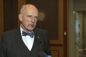 Korwin-Mikke: trzeba wyrzucić rząd z gospodarki i zlikwidować podatki dochodowe