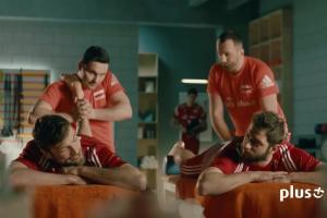 Plus i Cyfrowy Polsat z siatkarzami reklamują testy internetu LTE za 9 zł