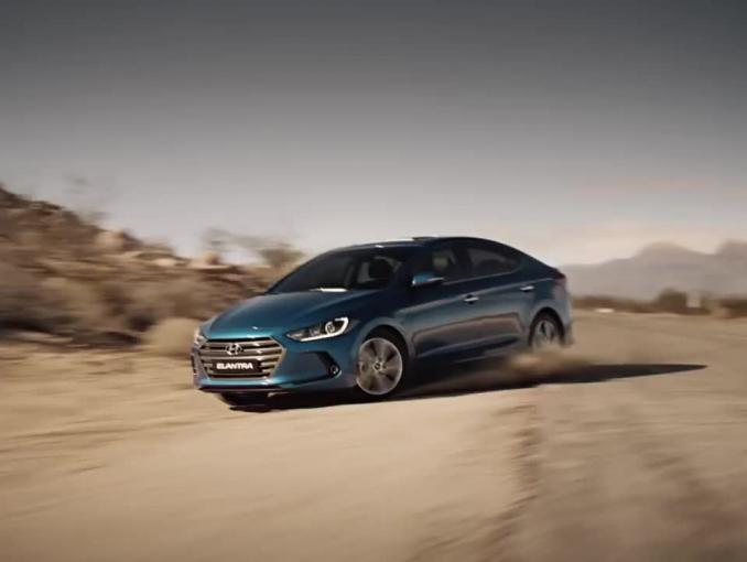 """Hyundai Elantra promowany jako """"gotowy na wyzwania przyszłości"""""""