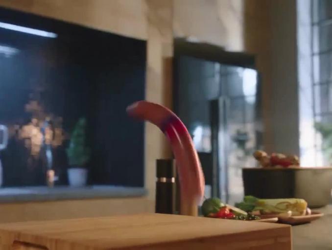 Kiełbasy Morlińskie reklamowane jako bohaterowie kina akcji