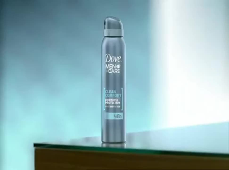 reklama antyperspirantu reklama Dove Men+Care