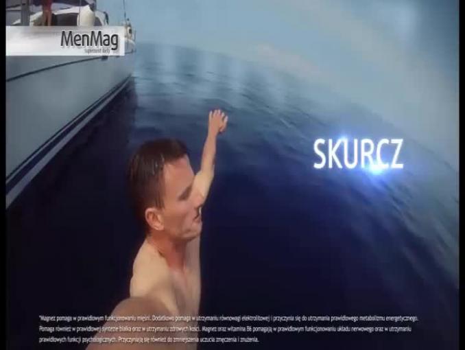 Męskie wyzwanie w reklamie preparatu MenMag