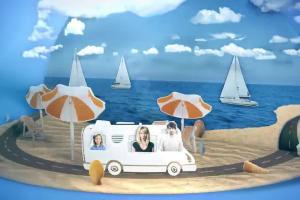 """""""Odjazdowe lato"""" - promocja jogurtów pitnych Danone"""