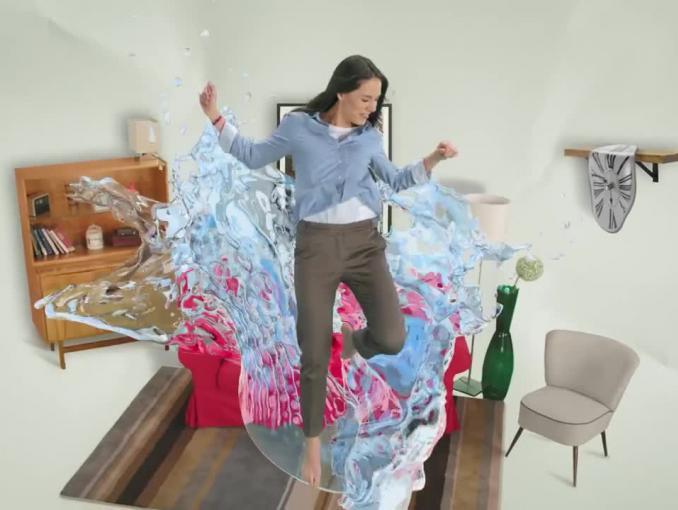 """""""Wyskocz z kapci i znajdź własną drogę do witalności"""" w reklamach Nałęczowianki"""