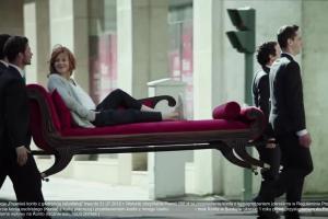 """""""Daj się przenieść"""" - Karolina Gruszka w reklamie Credit Agricole"""