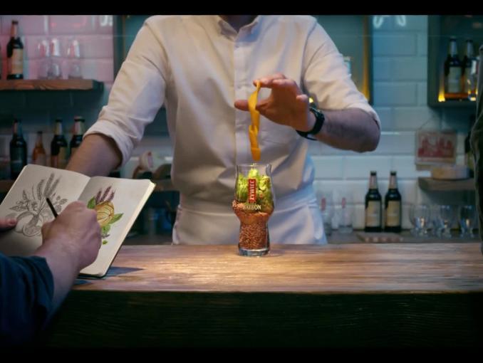 """""""Nie lada degustacja"""" - reklama piwa Żywiec Saison"""