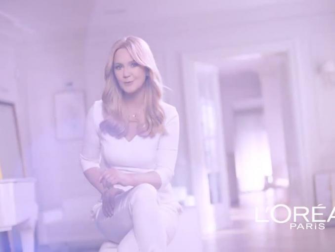 Grażyna Torbicka reklamuje Excellence Crème L'Oréal Paris