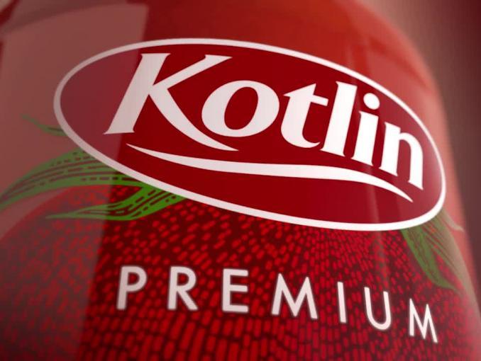 Ketchup Kotlin w butelce szklanej - bez octu i bez konserwantów