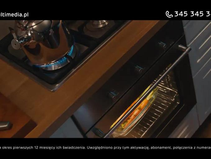 Chomiki bez dostępu do piekarnika reklamują zniżki w pakiecie Multimedia Polska
