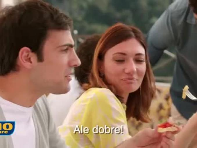Alessandro Gassman reklamuje żywność Rio Mare