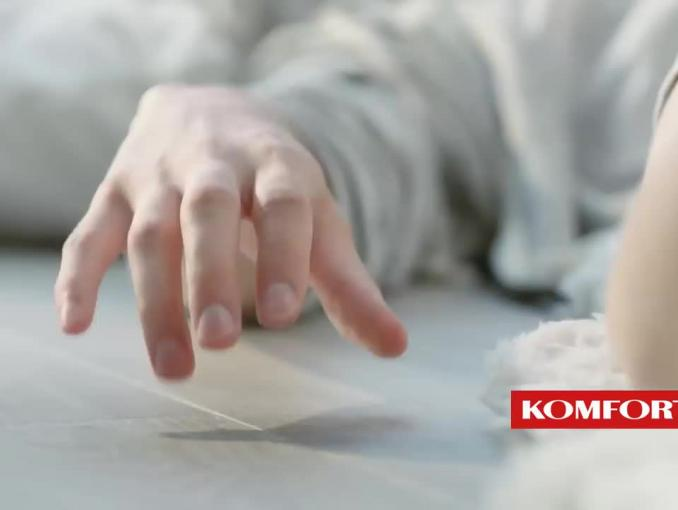 """""""Metry2 szczęścia"""" - Dorota Szelągowska reklamuje Komfort"""