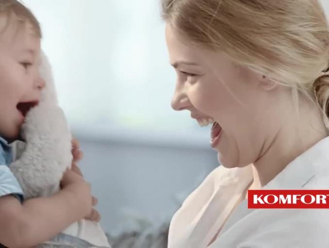 Dorota Szelągowska w reklamie wykładziny podłogowej Komfort