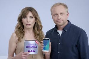 Samsung Galaxy J3 w Formule Rodzina w Play - spot z Agnieszką Dygant i Piotrem Adamczykiem