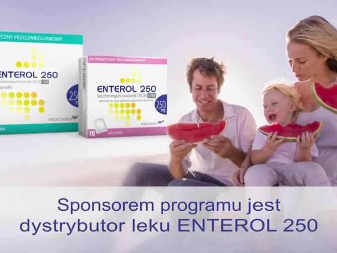 Rodzinna kampania reklamuje probiotyk Enterol