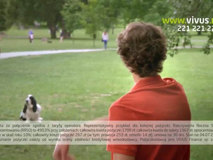 """Żyj po swojemu!"" w reklamie Vivus.pl"