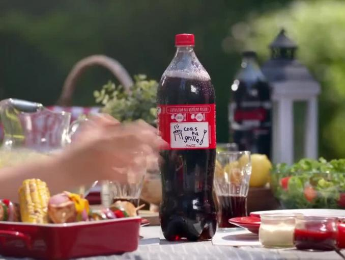 """Razem smakuje lepiej"" - reklama Coca-Coli"