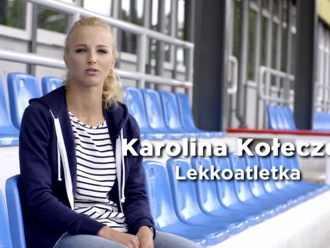 """""""Działaj #JakDziewczyna"""" - lekkoatletka Karolina Kołeczek w olimpijskiej kampanii Always"""