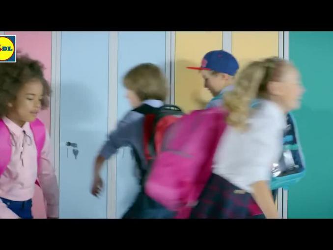 Lidl reklamuje artykuły szkolne