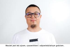 """""""Bądź mądry"""" - Maciej """"Zuch rysuje"""" Mazurek w akcji Kompanii Piwowarskiej"""