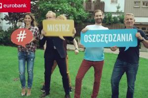 #mistrzoszczędzania - Piotr Adamczyk reklamuje rachunek Ekstra Zysk w eurobanku