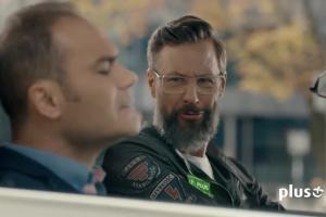 Szymon Majewski reklamuje interent LTE Plus Advanced w Plusie