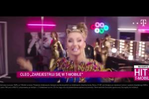 Cleo reklamuje rejestrowanie numerów w T-Mobile na kartę