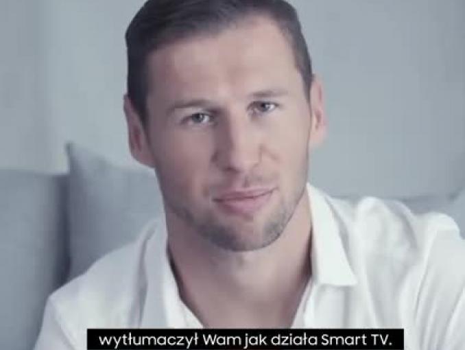 """""""#coikiedychce"""" - Grzegorz Krychowiak reklamuje telewizory Samsung Smart TV"""
