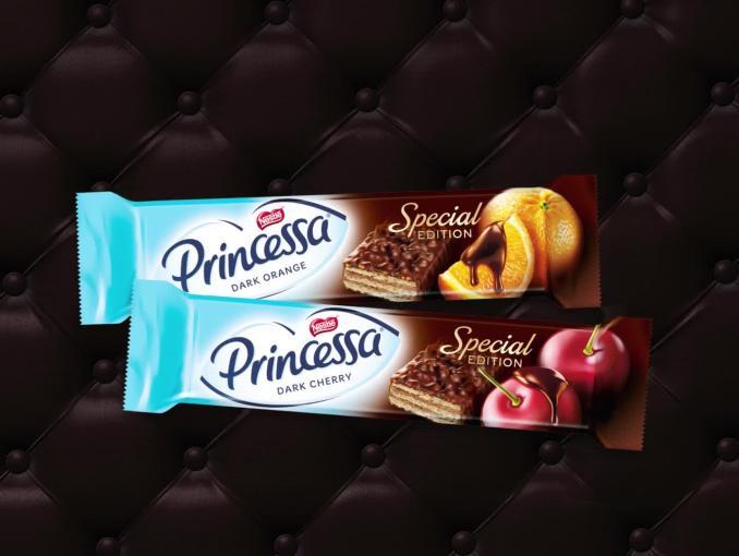 """""""Odkryj jej sekret"""" w reklamie wafli Princessa Dark"""